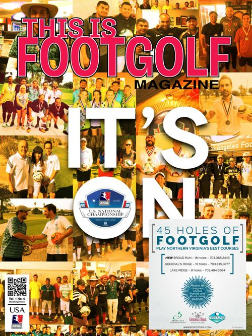 NorthernVirginiaThis is FootGolf Magazine - February 2016