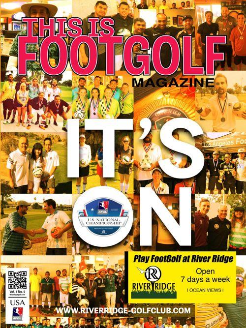 RiverRidgeThis is FootGolf Magazine - February 2016