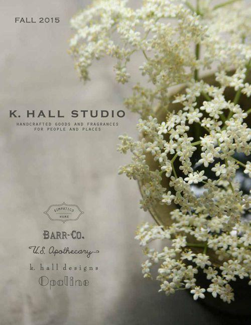 Fall 2015 Catalog - K. Hall Studio