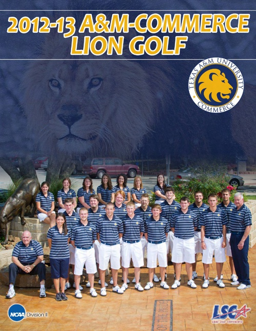 2012-13 A&M-Commerce Golf Yearbook