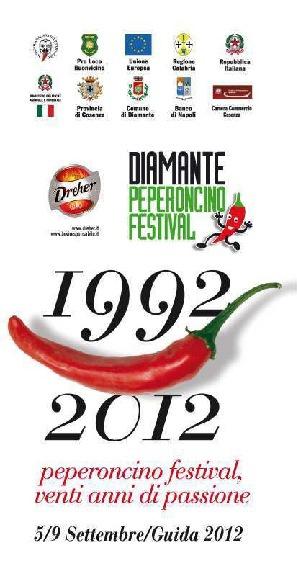 Festival del peperoncino Diamante 2012: il programma