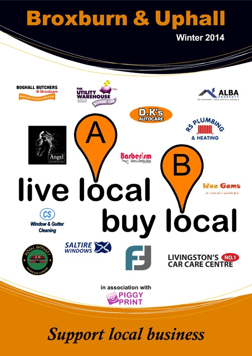 Live Local Buy Local - Broxburn&Uphall Winter 2014