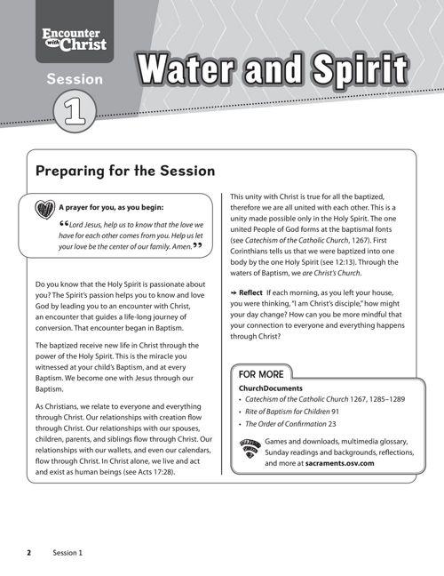 EWC Confirmation Parent Guide S1 Sampler