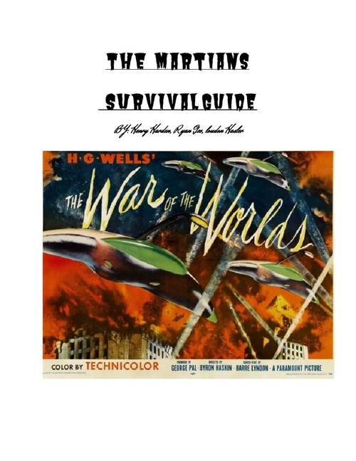 War of the Worlds: Survival Guide