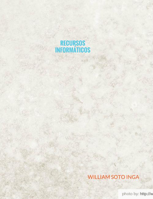 Copy of RECURSOS INFORMÁTICOS  CATALOGO 01 - PROFESORA ELVIRA