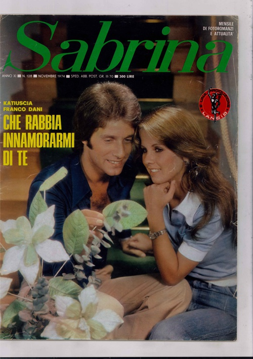 SABRINA N. 128 (1974) - CHE RABBIA INNAMORARMI DI TE-2
