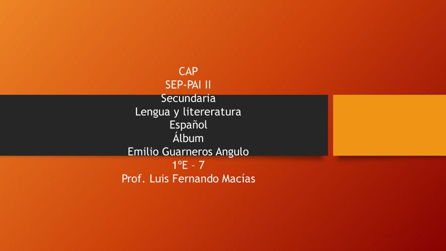 Español álbum
