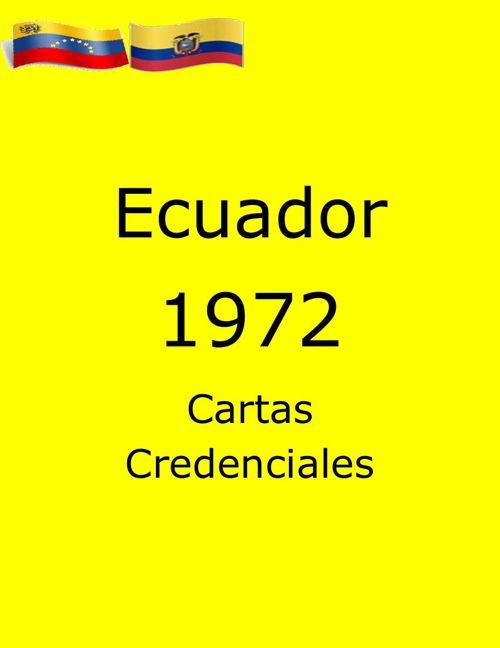 Cartas Ecuador