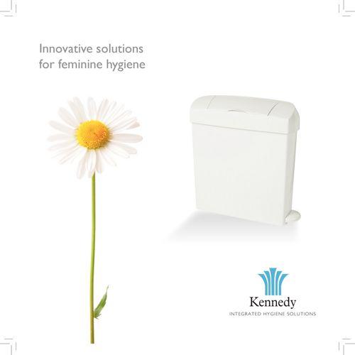 Feminine hygiene units
