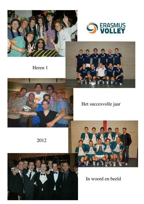 Heren 1: Het succesvolle jaar 2012 in woord en beeld