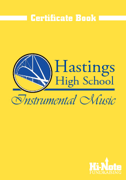 Hi-Note Fundraising - 2011 Hastings HS Instrumental Music Certif