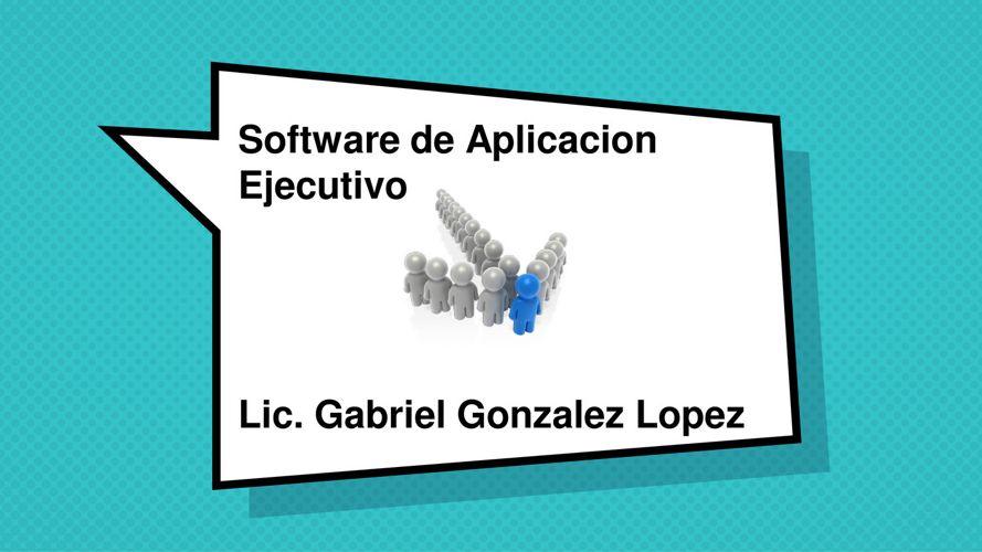 Sw Aplicacion - Intro