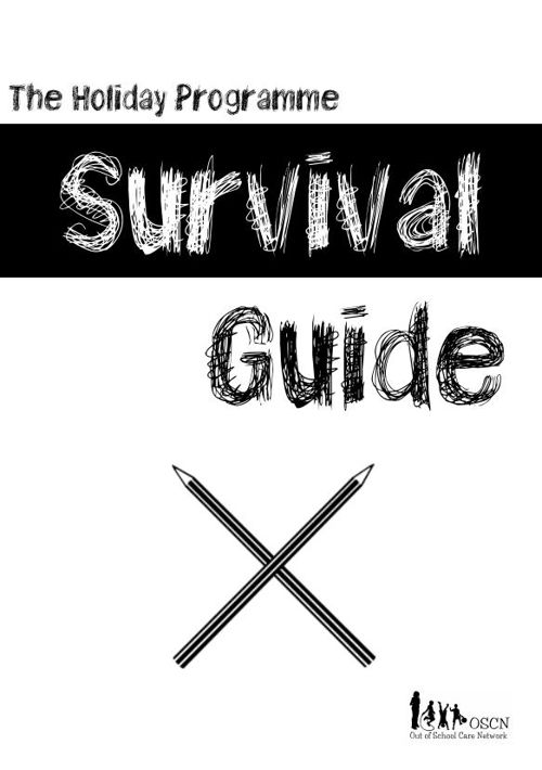 Holiday Programme Survival Guide sample pages