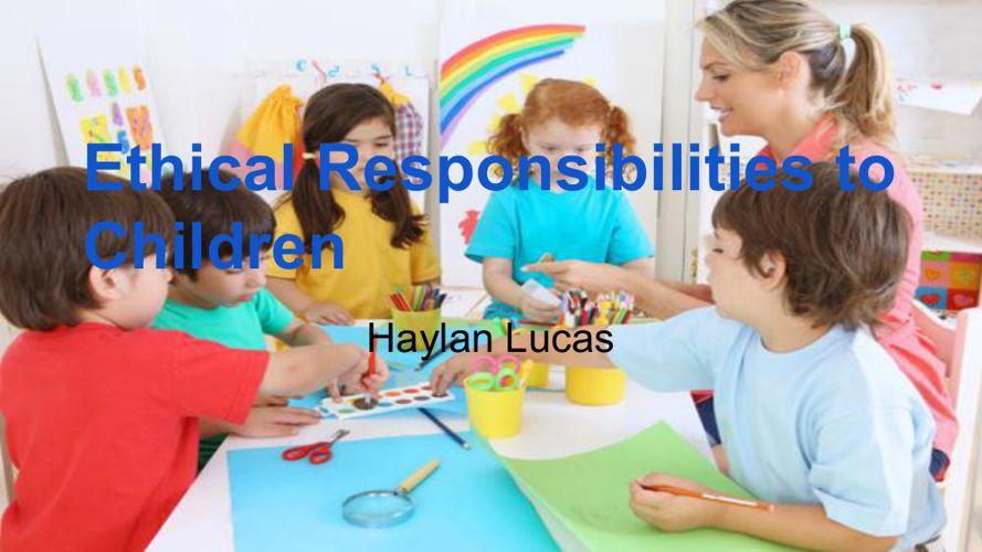 Haylan's Presentation (Daycare)