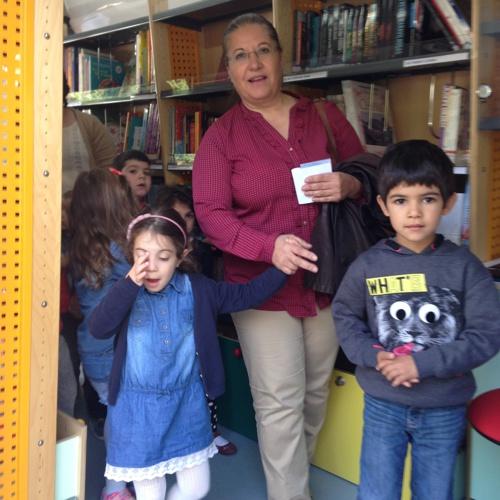 O JI de Gonçalo em visita às Bibliotecas Itinerantes