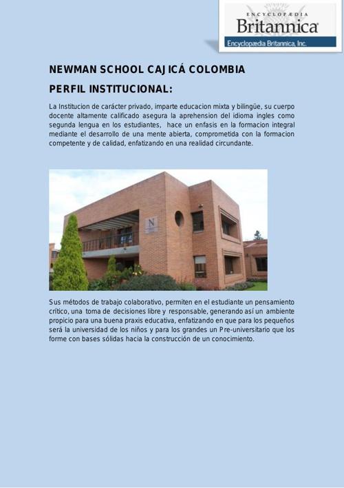 NEWMAN SCHOOL CAJICÁ COLOMBIA PDF2-1