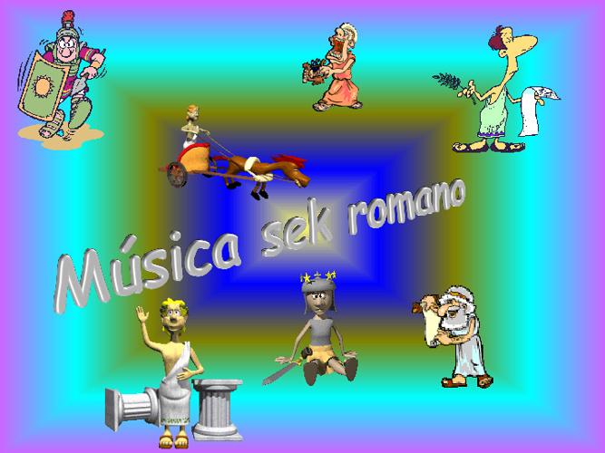 Música en la Roma Imperial.