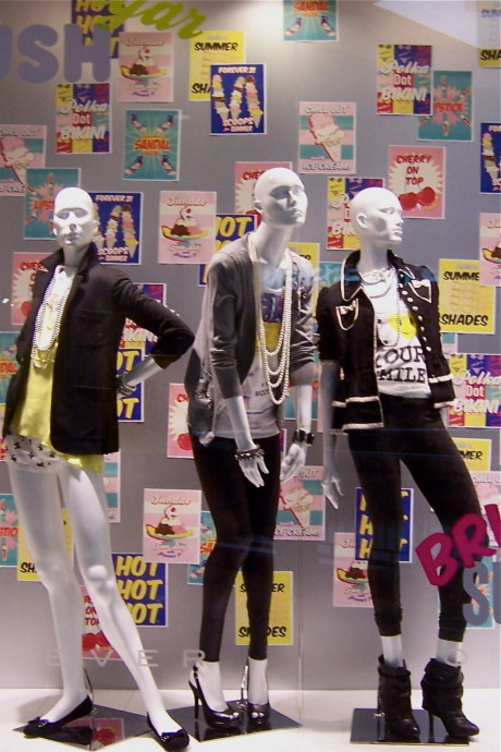 Forever 21 | Mannequin Styling