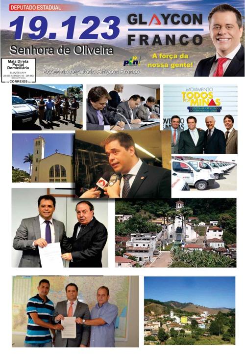 Jornal Senhora de Oliveira - Glaycon Franco