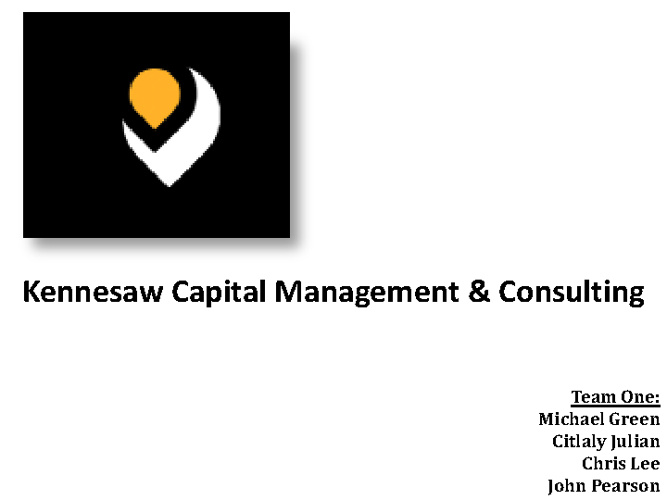 Kennesaw Capital Management & Consulting