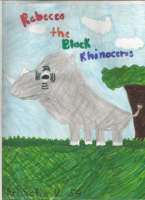 Rebecca the Black Rhinoceros