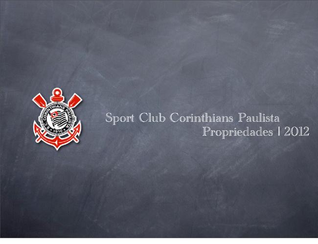 Patrocínio do Corinthians 2012/2013