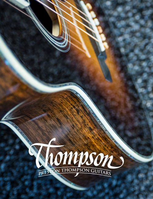 Thompson Guitars Catalog July 2017