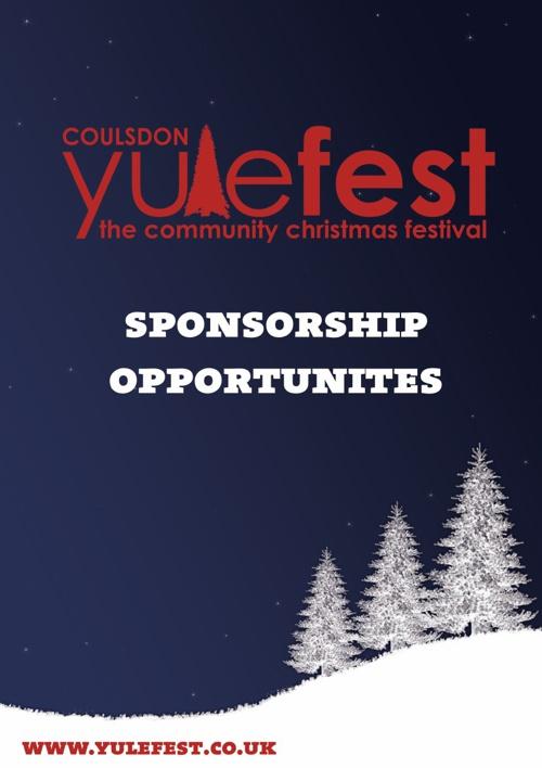 Coulsdon Yulefest Sponsorship