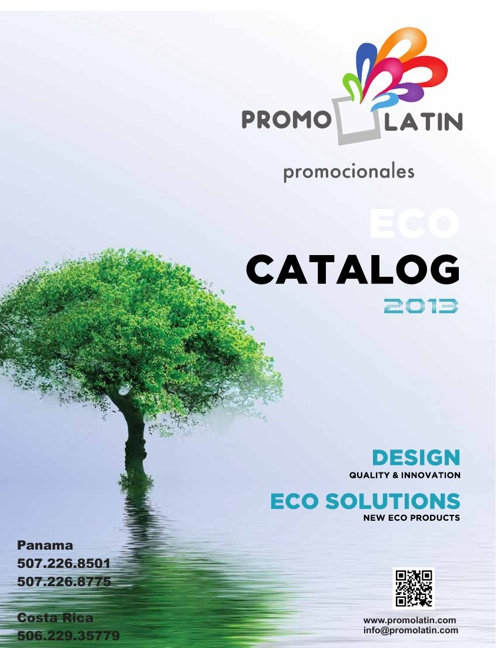 2013 PromoLatin Eco Catalog