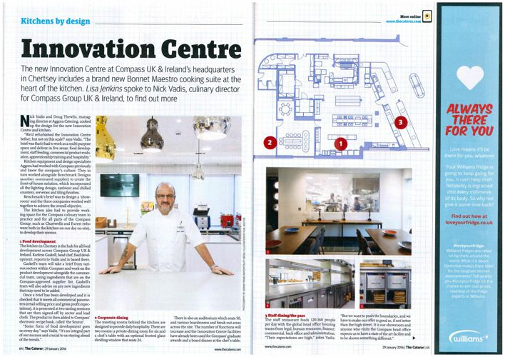 Innovation Centre article