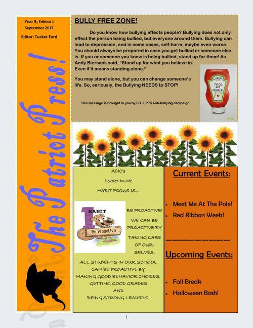 September Finished Newsletter pdf