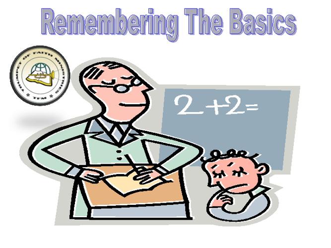 Remembering the Basics