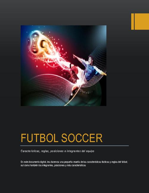 Libro digital sobre Futbol Soccer