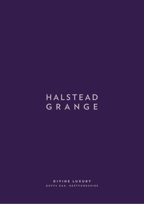 Halstead Grange brochure, Goffs Oak, TWNT