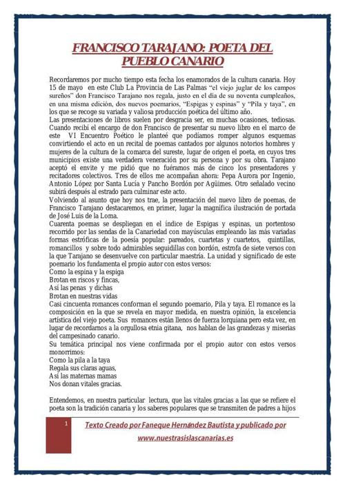 FRANCISCO TARAJANO2