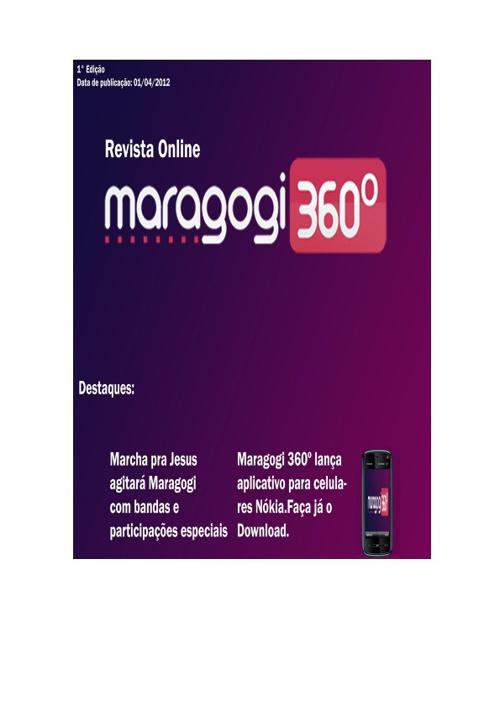 Revista Online Maragogi 360Graus
