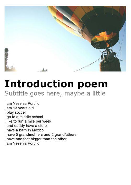 yesenia's poem