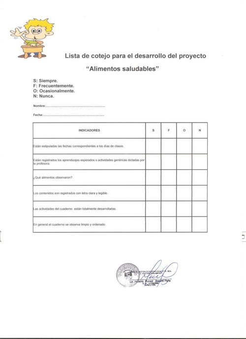 EVALUANDO ALIMENTOS SALUDABLES DE BARRANCA