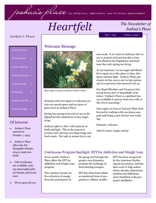 Heartfelt May 2012