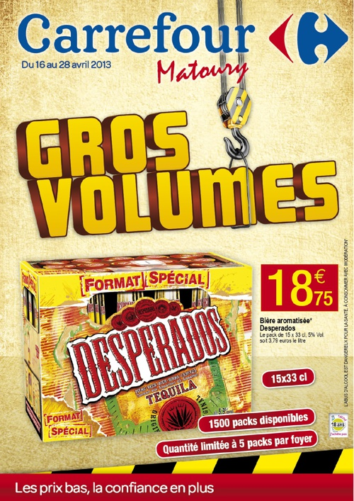 Carrefour - Gros Volumes