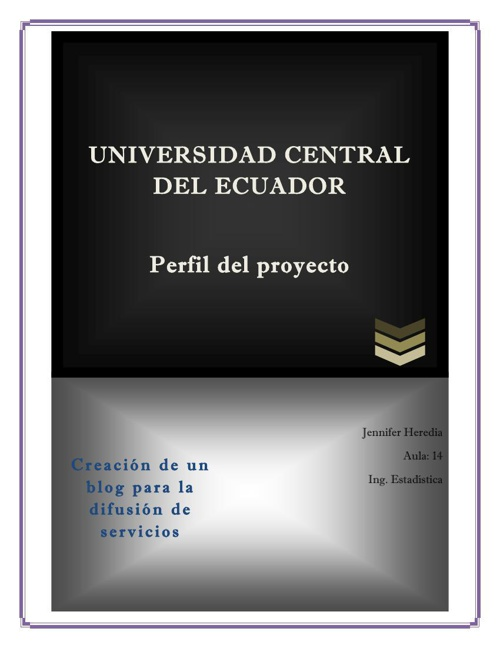 Perfil del Proyecto Jennifer Heredia Basurto 1