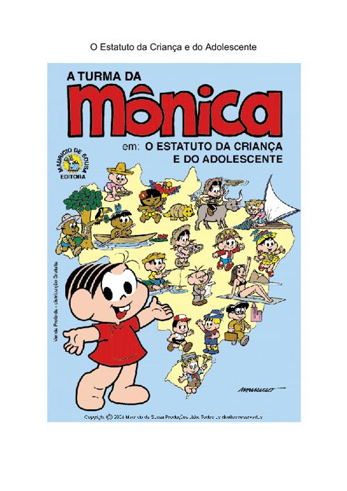 TURMA DA MÔNICA E O ECA