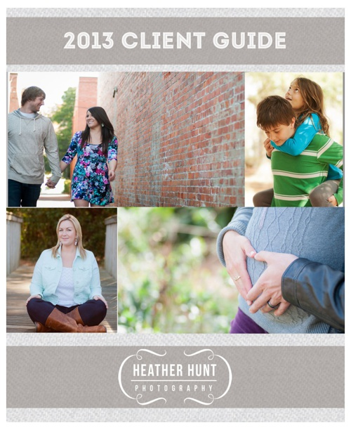 Heather Hunt Photography Client Guide