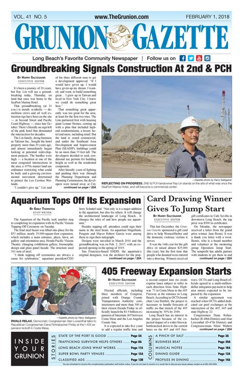 Grunion Gazette 2-1-18