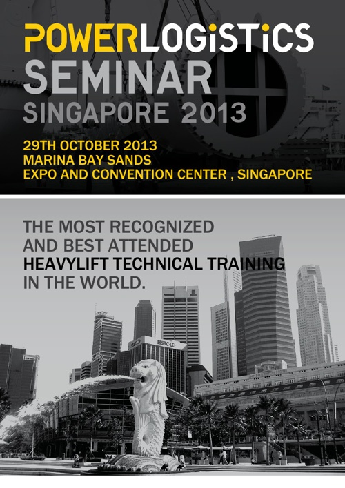 PL Asia 2013_Heavy Transport and Lifting Seminar