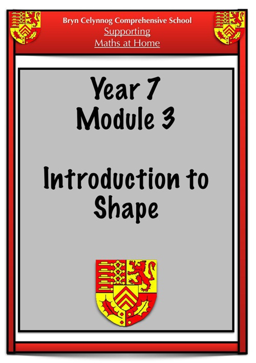 Year 7 Module 3 Booklet