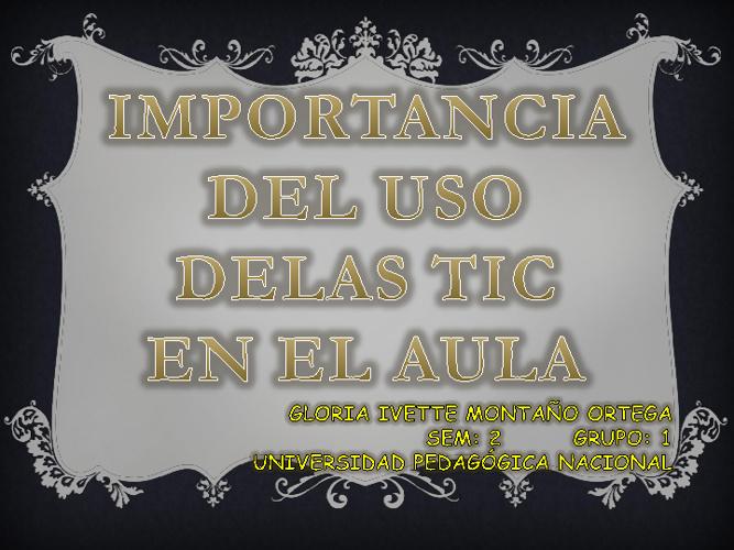 TICS EN EL AULA