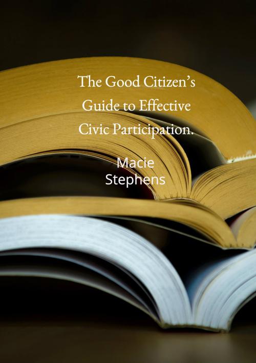 Citizen Responsibility Book