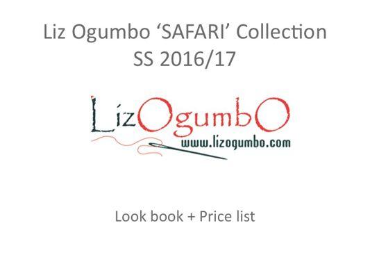 Liz Ogumbo SAFARI COLLECTION  LOOK BOOK