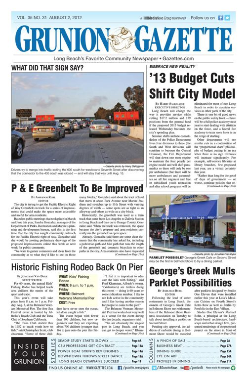 Grunion Gazette | August 2, 2012